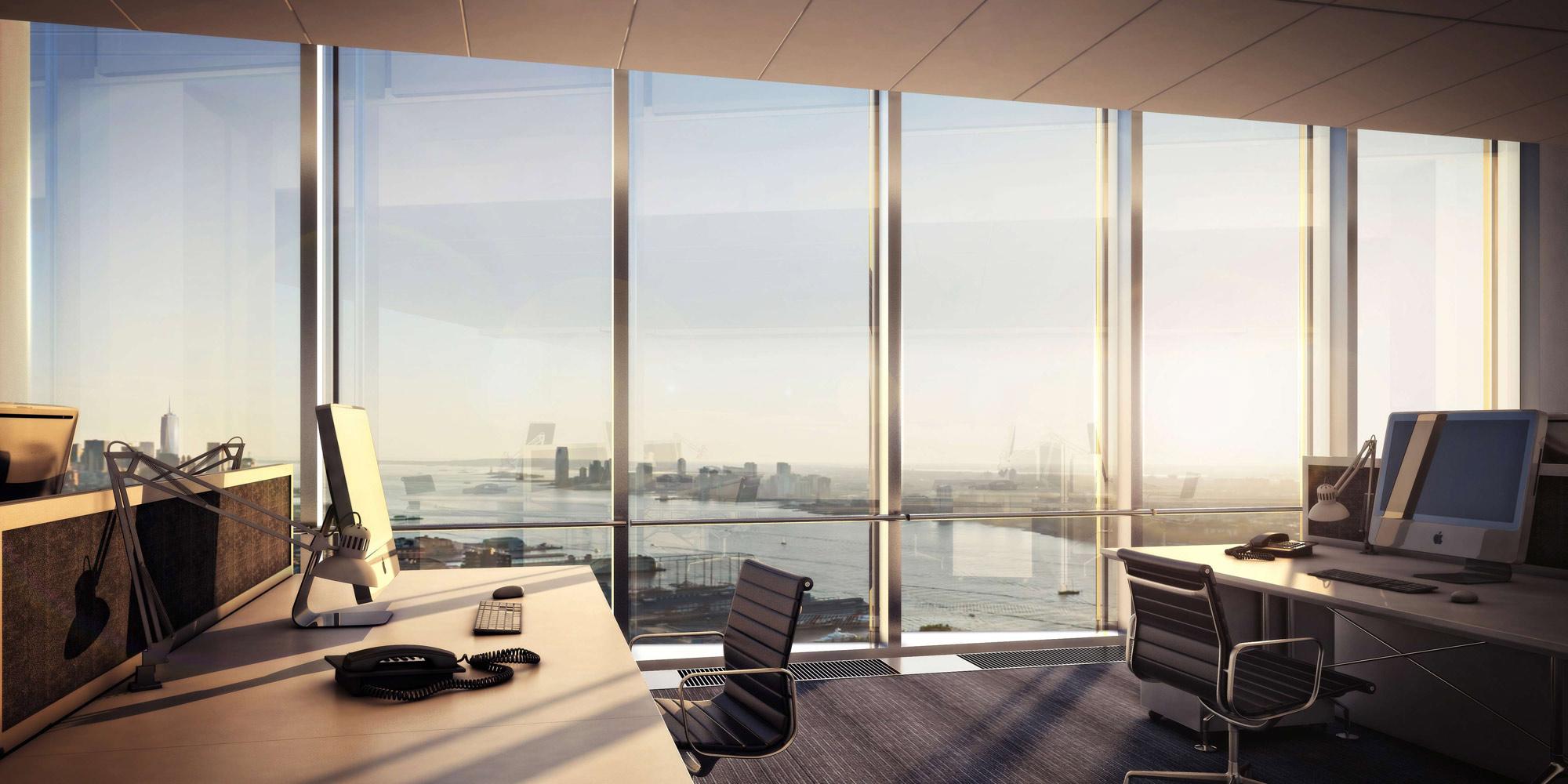 Офисы с панорамными окнами
